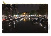 Magical Amsterdam Night - Blue Crown Skyline Carry-all Pouch