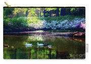 Magical Beauty At The Azalea Pond Carry-all Pouch