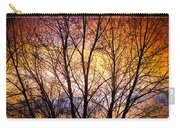 Magical Colorful Sunset Tree Silhouette Carry-all Pouch