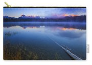 Magical Sunrise Along Sawtooth Mountain Range Stanley Idaho Carry-all Pouch