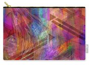Magnetic Abstraction Carry-all Pouch by John Robert Beck