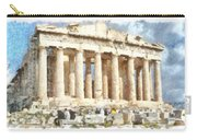 Magnificent Acropolis In Athens Carry-all Pouch