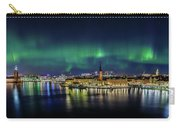 Magnificent Aurora Dancing Over Stockholm Carry-all Pouch
