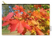 Magnificent Maple Leaves Carry-all Pouch