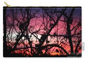 Magnificent Sunset And Trees Carry-all Pouch