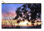 Magnificent Winter Sky Carry-all Pouch