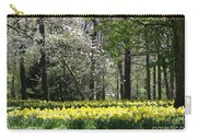 Magnolia And Daffodils Carry-all Pouch