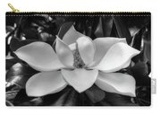 Magnolia Bloom B/w Carry-all Pouch