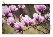 Magnolia Blooming In An Early Spring Carry-all Pouch