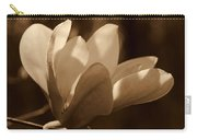 Magnolia Blossom Bw Carry-all Pouch