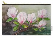 Magnolia Blossom - Painting Carry-all Pouch