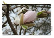 Magnolia Flower Pink White 19 Magnolia Tree Spring Art Carry-all Pouch