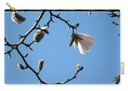 Magnolia Flowers Budding Art Prints Spring Floral Baslee Troutman Carry-all Pouch