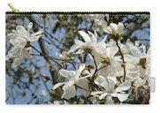 Magnolia Flowers White Magnolia Tree Flowers Art Prints Carry-all Pouch