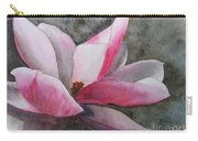 Magnolia In Shadow Carry-all Pouch