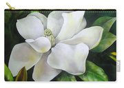 Magnolia Oil Painting Carry-all Pouch