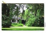 Magnolia Plantation Back Entrance Carry-all Pouch