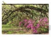 Magnolia Plantation's Live Oaks And Azaleas  Carry-all Pouch