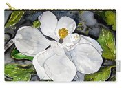 Magnolia Tree Flower Carry-all Pouch