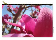 Magnolia Tree Pink Magnoli Flowers Artwork Spring Carry-all Pouch