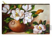 Magnolias In A Clay Pot Carry-all Pouch