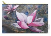 Magnolias In Shadow Carry-all Pouch