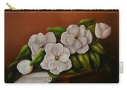 Magnolias On A Table Carry-all Pouch