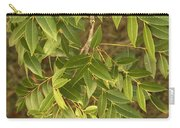 Mahogany Leaves On A Branch Carry-all Pouch