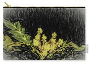 Mahonia Blossom Carry-all Pouch