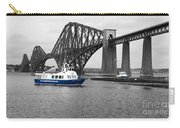 Maid Of The Forth In Blue. Carry-all Pouch