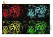 Maidenhair Ferns Pop Art Carry-all Pouch