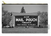 Mail Pouch Tobacco In Black And White Carry-all Pouch