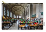 Main Reading Room Of Boston Public Library Carry-all Pouch