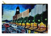 Main Street Clock Tower Carry-all Pouch