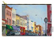 Main Street Nayck  Ny  Carry-all Pouch by Ylli Haruni
