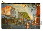 Main Street Nyack Ny  Carry-all Pouch by Ylli Haruni