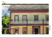 Main Street Of A Bygone Era At Old World Wisconsin Carry-all Pouch