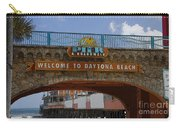 Main Street Pier And Boardwalk Carry-all Pouch by David Lee Thompson