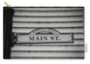 Main Street Signage Mackinac Island Michigan Carry-all Pouch