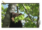 Maine Black Bear Cub In Tree Carry-all Pouch