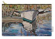 Maine Coast Boat Reflections Carry-all Pouch