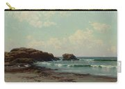 Maine Coast, C.1885 Oil On Canvas By Alfred Thompson Bricher Carry-all Pouch