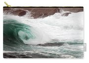 Maine Coast Storm Waves 1 Of 3 Carry-all Pouch