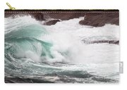 Maine Coast Storm Waves 2 Of 3 Carry-all Pouch