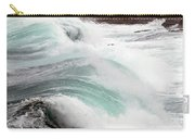 Maine Coast Storm Waves 3 Of 3 Carry-all Pouch