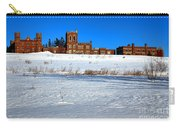 Maine Criminal Justice Academy In Winter Carry-all Pouch
