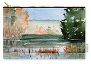 Maine Fall Reflections Carry-all Pouch