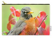 Maine Fall Robin Carry-all Pouch