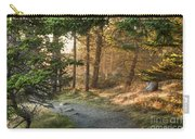Maine Forest At Dusk Carry-all Pouch