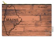 Maine Map Brand Carry-all Pouch